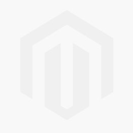 BE STRONG -  Tail Sterling Silver Necklace with red Crystal